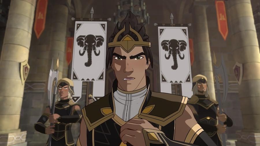 the dragon prince season 3 laser