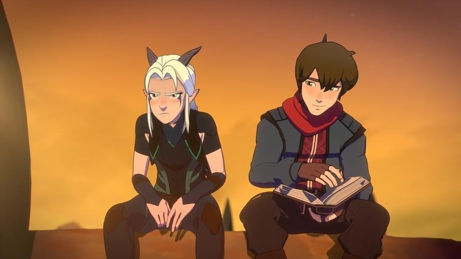 the dragon prince season 3 callum rayla
