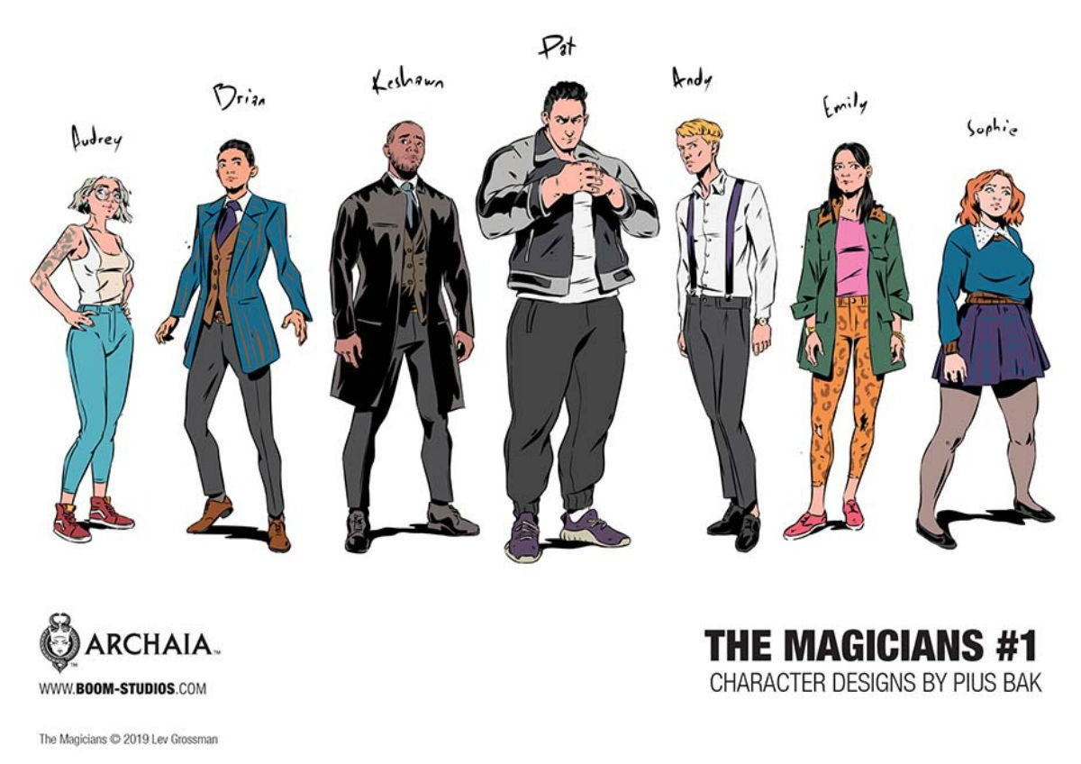 The Magicians new characters