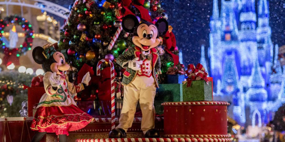 Disney parks christmas show