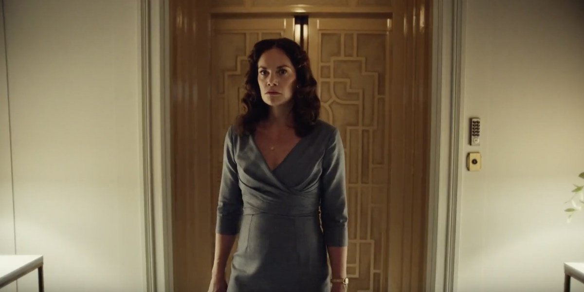 His Dark Materials 1x02 coulter elevator