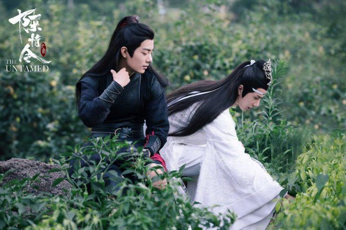 WangXian 'The Untamed' sitting