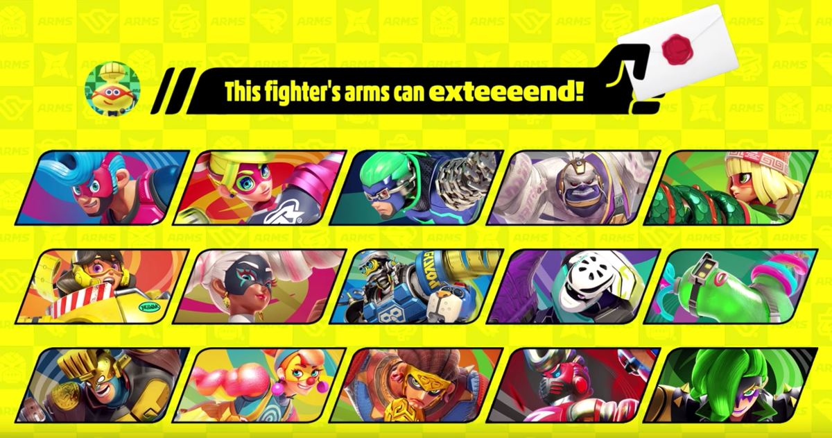 smash ultimate dlc characters arms