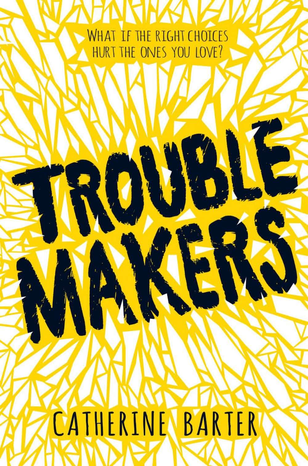 Mother-daughter relationships in YA: Troublemakers by Catherine Barter
