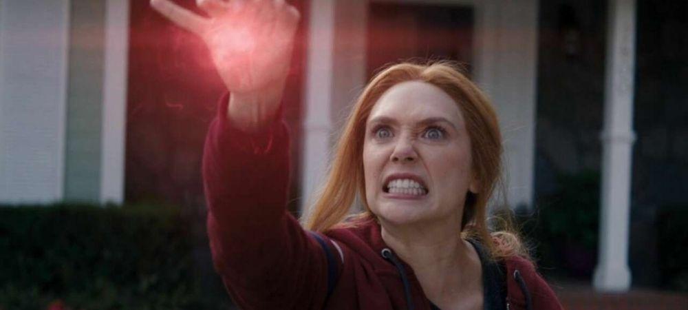 "Wanda lashing out in WandaVision ""Breaking the Fourth Wall"""