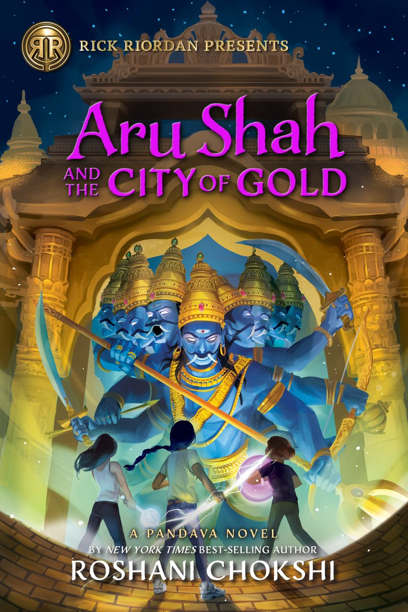 aru shah and the city of gold cover