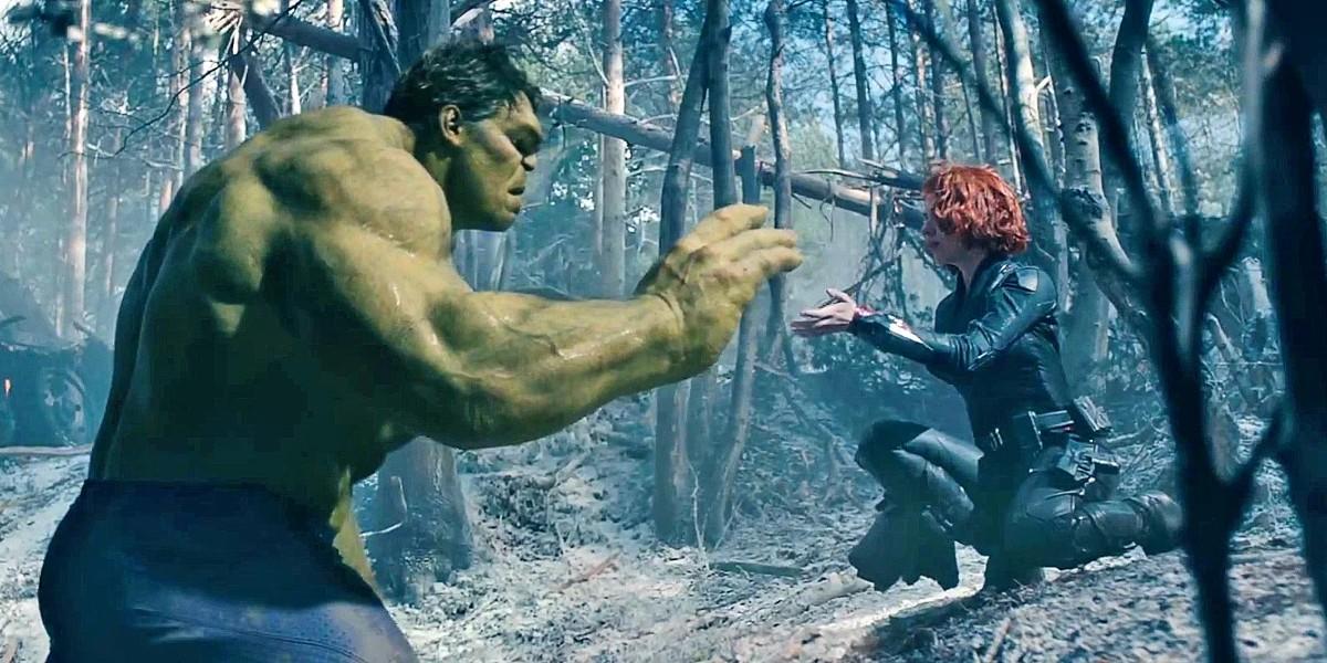 black widow the hulk