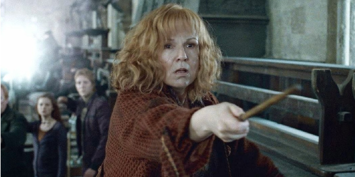 harry potter and the deathly hallows part 2, molly weasley